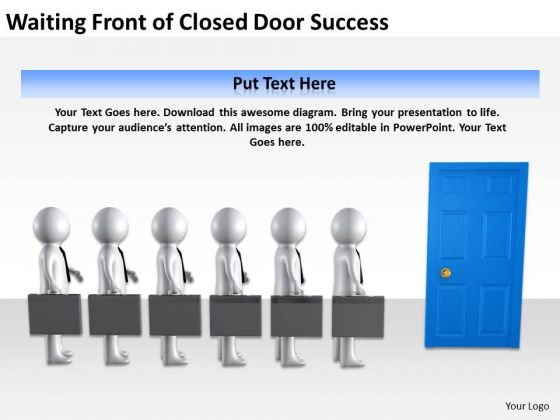 Business Process Diagrams Examples Door Success PowerPoint Templates Ppt Backgrounds For Slides