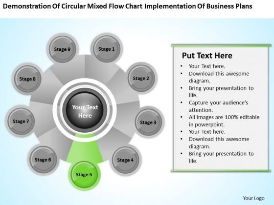 Business Process Flow Diagram Chart Implementation Plans Ppt PowerPoint Templates
