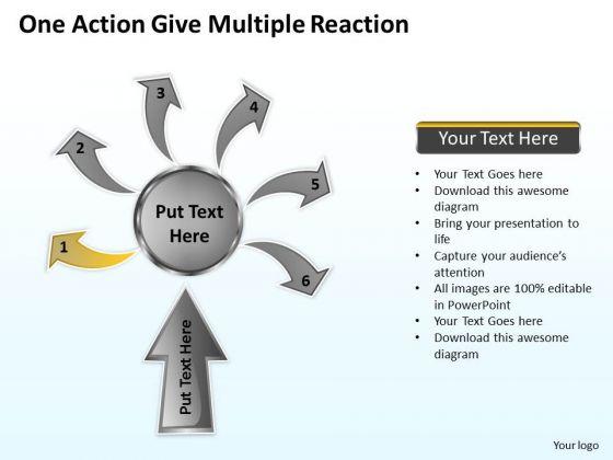 Business Process Flow Diagram Examples Reppt Slides Diagrams Templates PowerPoint