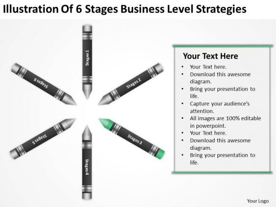 Business Process Flow Diagram Examples Stages Level Strategies PowerPoint Templates