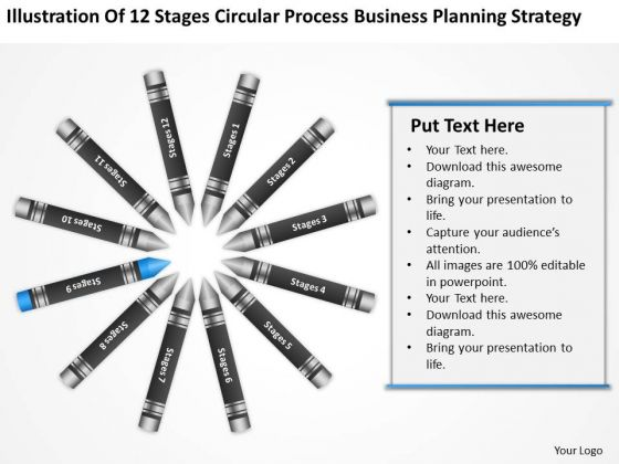 Business Process Flow Planning Strategy PowerPoint Templates Backgrounds For Slides