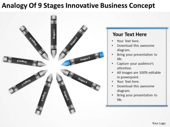 Business Process Flowchart Examples Of 9 Stages Innovative Concept Ppt PowerPoint Slides