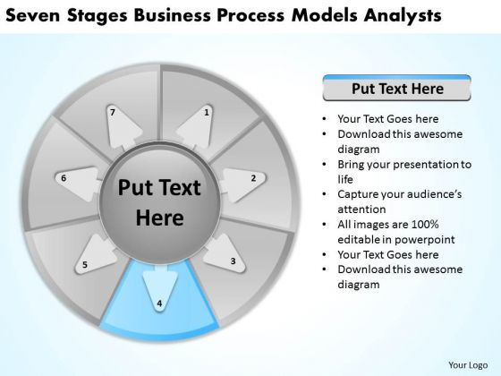 Business Process Models Analysts Plan Template PowerPoint Templates