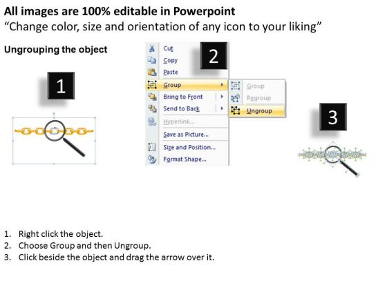 business_process_powerpoint_templates_business_weak_broken_chains_and_links_ropes_ppt_slides_2