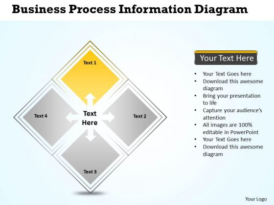 Business Process Workflow Diagram Examples Information PowerPoint Templates