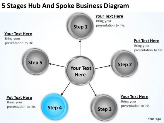 Business Process Workflow Diagram Examples PowerPoint Templates Ppt
