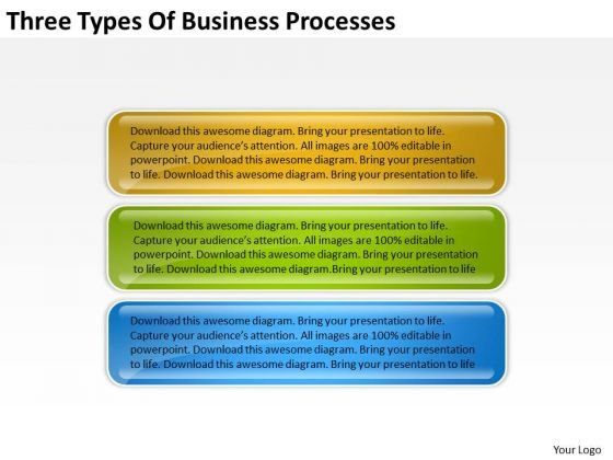 Business Processes Examples Plans For Small PowerPoint Templates