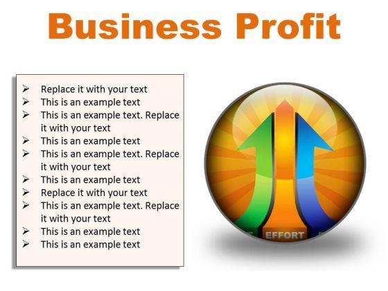 Business Profit Marketing PowerPoint Presentation Slides C
