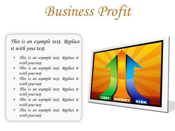 Business Profit Marketing PowerPoint Presentation Slides F