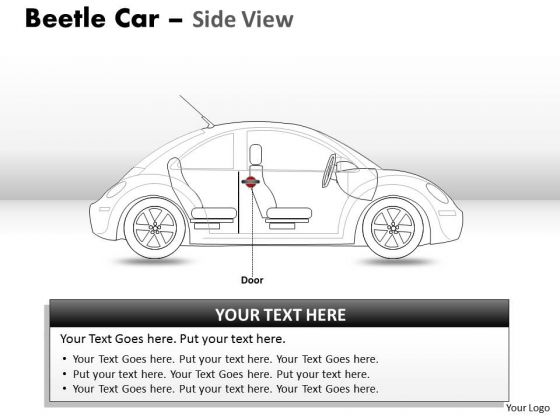 Business Red Beetle Car PowerPoint Slides And Ppt Diagram Templates