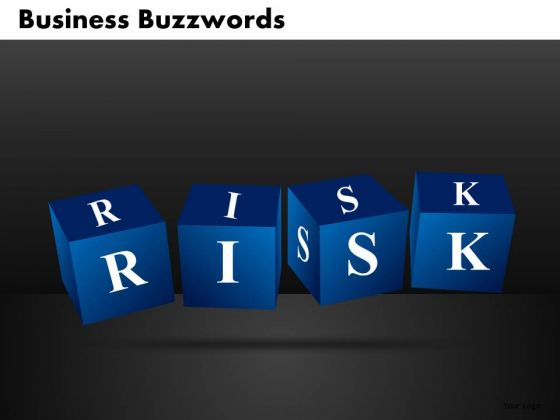 Business Risk PowerPoint Templates With Building Blocks
