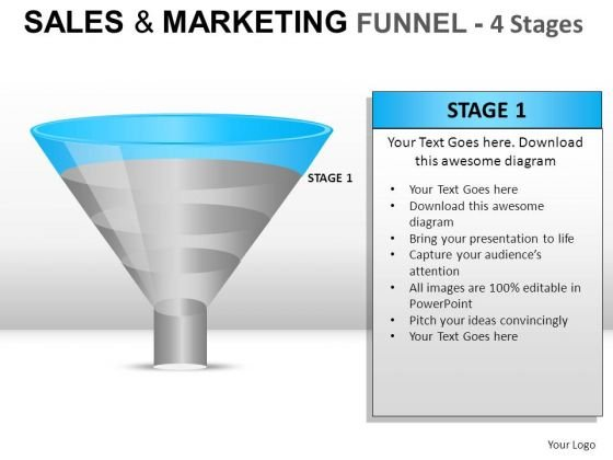 Business Sales And Marketing Funnel PowerPoint Slides And Ppt Diagram Templates