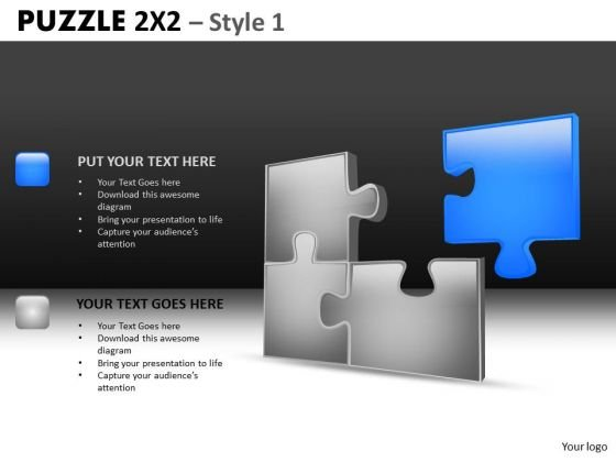 Business Solution Puzzle PowerPoint Slides And Editable Ppt Templates