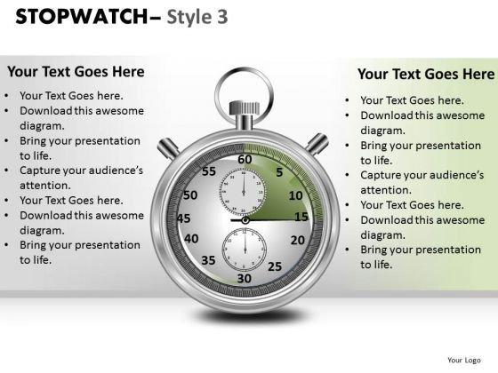 Business Stopwatch 3 PowerPoint Slides And Ppt Diagram Templates