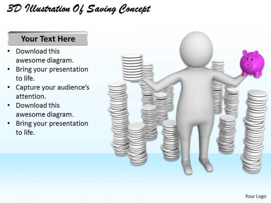 Business Strategy And Policy 3d Illustration Of Saving Concept