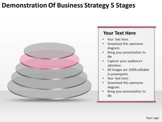 Business Strategy Concepts 5 Stages Ppt Planning PowerPoint Slides