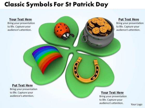 Business Strategy Consultant Classic Symbols For Patrick Day Images