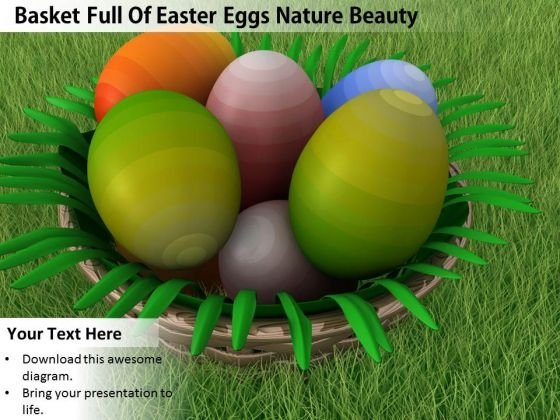 Business Strategy Consultants Basket Full Of Easter Eggs Nature Beauty Pictures