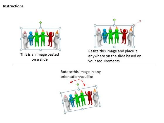 business_strategy_execution_3d_people_birthday_celebration_concept_statement_2
