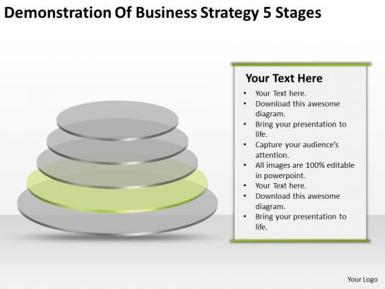 Business Strategy Formulation 5 Stages Ppt Plan Template PowerPoint Slides