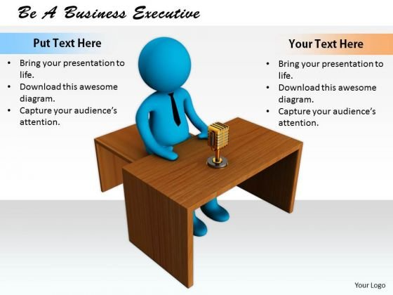 Business Strategy Implementation Be Executive 3d Character Models