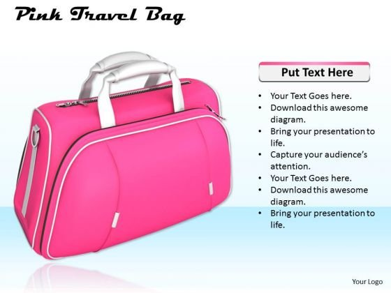Business Strategy Implementation Pink Travel Bag Images