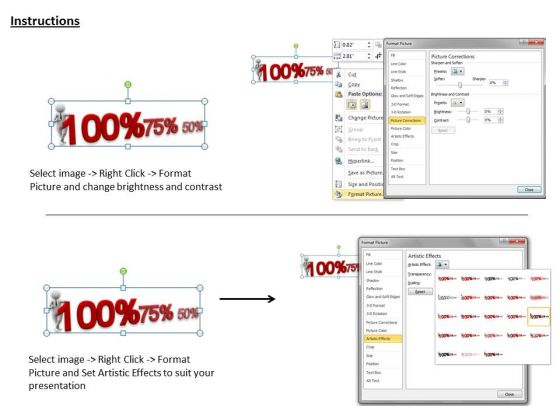 business_strategy_innovation_3d_man_showing_decline_percentage_adaptable_concepts_3