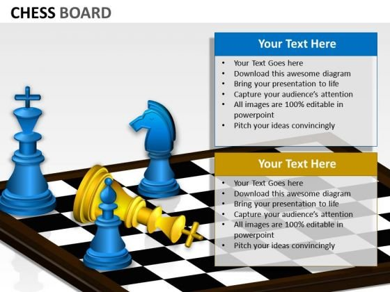 Business Success Chess Board PowerPoint Slides And Ppt Diagram Templates