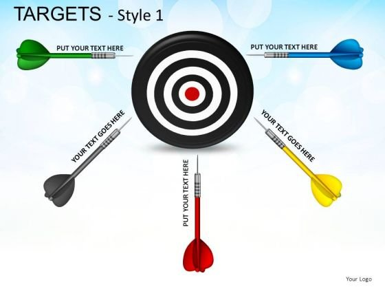 Business Targets 1 PowerPoint Slides And Ppt Diagram Templates