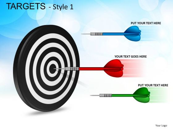 Business Targets PowerPoint Slides And Ppt Template Diagrams