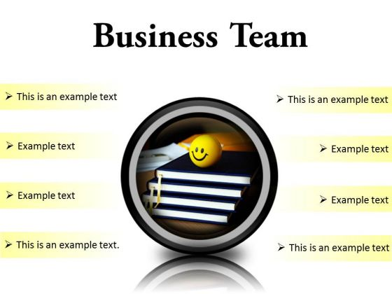 Business Team Success PowerPoint Presentation Slides Cc