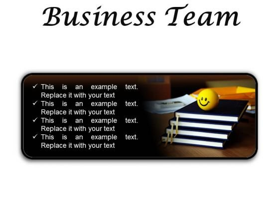 Business Team Success PowerPoint Presentation Slides R