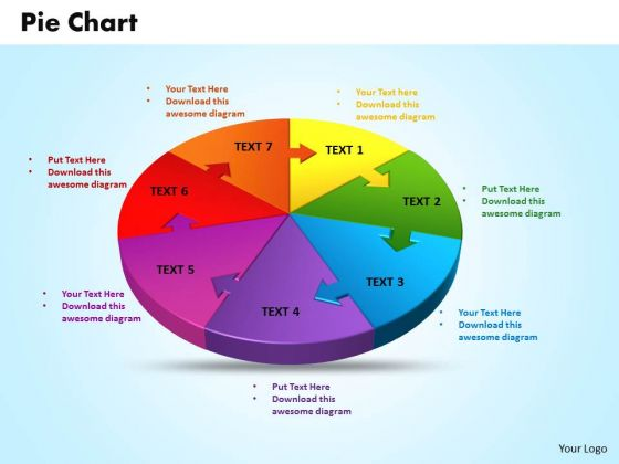 Business Teamwork PowerPoint Templates Business 3d Jigsaw Circular Pie Chart Ppt Slides