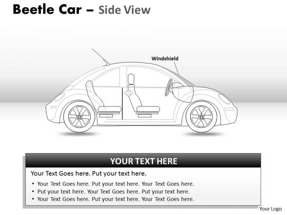 Business Travel Red Beetle Car PowerPoint Slides And Ppt Diagram Templates