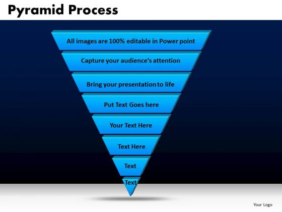 Business Triangles PowerPoint Templates Diagram Pyramid Process Ppt Slides