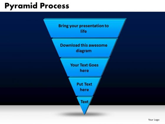 Business Triangles PowerPoint Templates Marketing Pyramid Process Ppt Slides