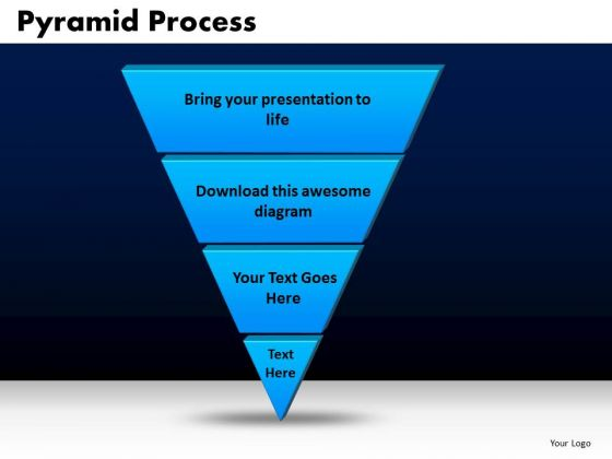 Business Triangles PowerPoint Templates Process Pyramid Process Ppt Slides