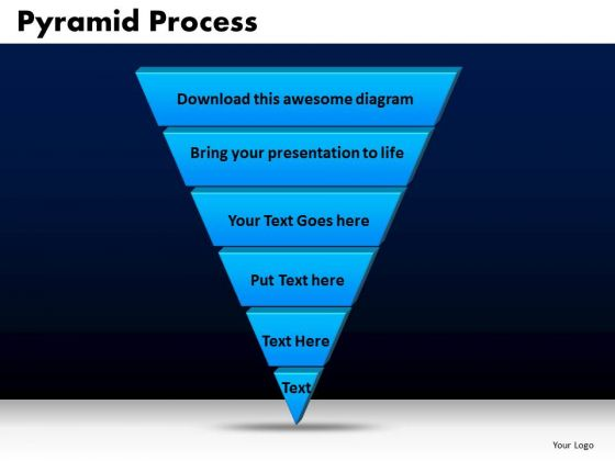 Business Triangles PowerPoint Templates Strategy Pyramid Process Ppt Slides