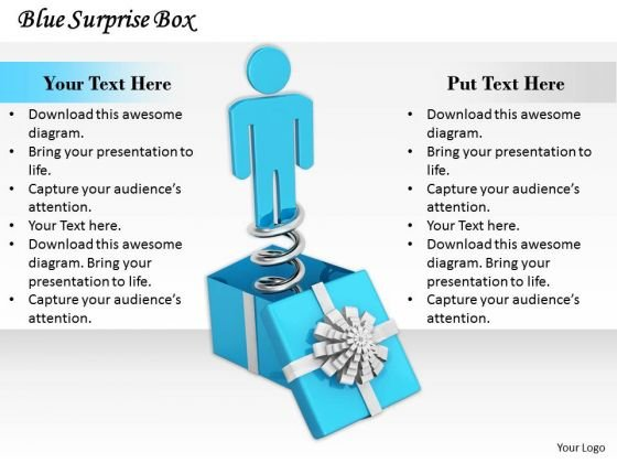 Business Unit Strategy Blue Surprise Box Concept