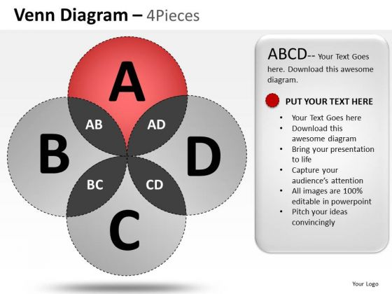 Business Venn Diagram PowerPoint Slides And Ppt Diagram Templates