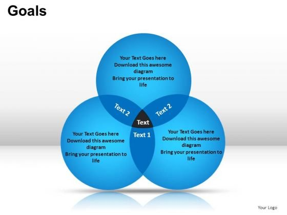 Business Venn Diagram PowerPoint Templates Editable Ppt Slides Download