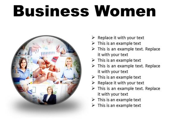 Business Women Success PowerPoint Presentation Slides C
