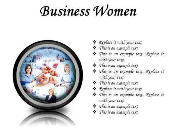 Business Women Success PowerPoint Presentation Slides Cc