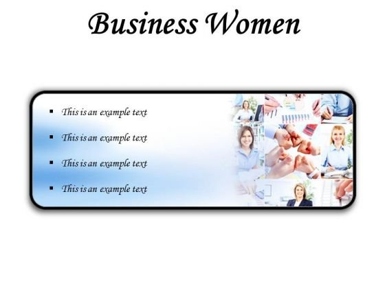 Business Women Success PowerPoint Presentation Slides R