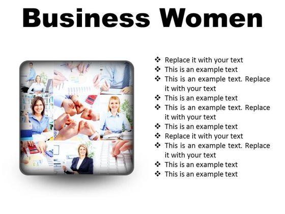 Business Women Success PowerPoint Presentation Slides S