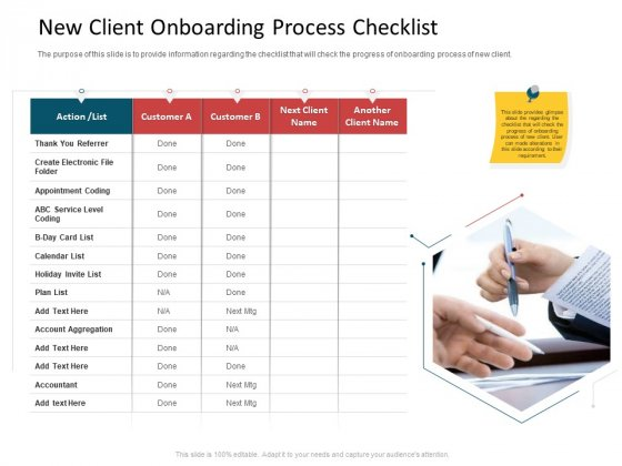 CDD Process New Client Onboarding Process Checklist Rules PDF