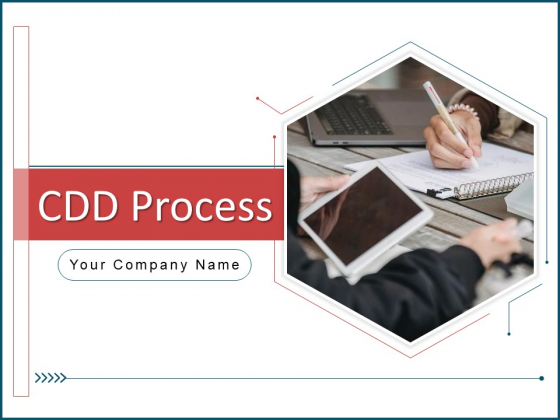 CDD Process Ppt PowerPoint Presentation Complete Deck With Slides