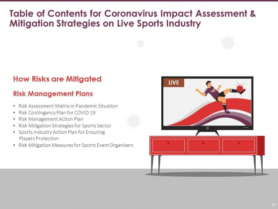 COVID_19_Effect_And_Risk_Management_Strategies_For_Sports_Ppt_PowerPoint_Presentation_Complete_Deck_With_Slides_Slide_34
