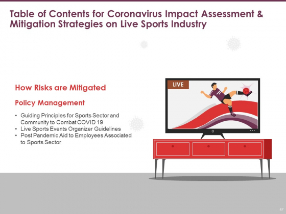 COVID_19_Effect_And_Risk_Management_Strategies_For_Sports_Ppt_PowerPoint_Presentation_Complete_Deck_With_Slides_Slide_47