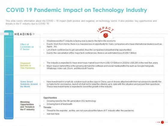 COVID_19_Mitigating_Impact_On_High_Tech_Industry_Ppt_PowerPoint_Presentation_Complete_Deck_With_Slides_Slide_7
